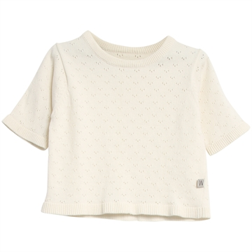 Wheat Knit Top Lily <br> Ivory