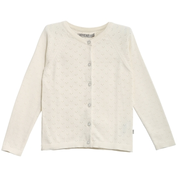 Wheat Knit Cardigan Maja <br> Ivory
