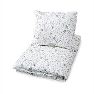 CamCam Bedding Baby <br> Pressed Leaves Blue
