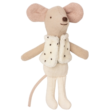 Maileg Little Brother Mouse <br> Dancer in Matchbox
