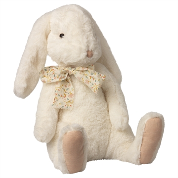 Maileg Fluffy Bunny <br> Hvid X-Large