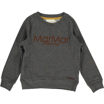 MarMar Thadeus Sweat <br> Dark Grey Melange