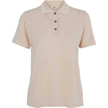 Basic Apparel Kali Polo Tee <br> Sand