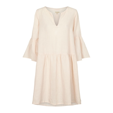 Tina Wodstrup Linen Dress <br> Mauve