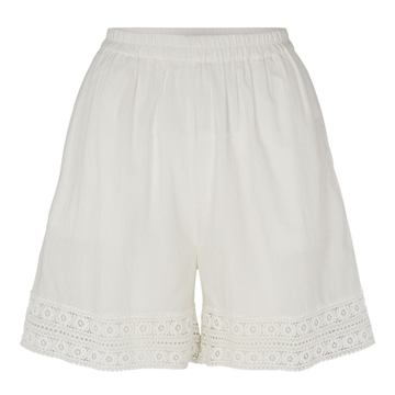 Tina Wodstrup Shorts w. Lace <br> Off White