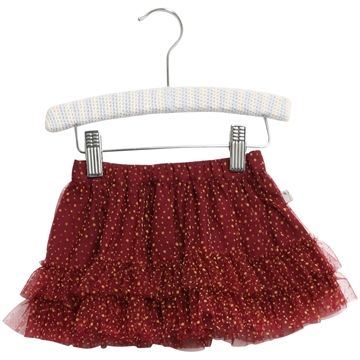 Wheat Tulle Sille Baby <br> Burgundy