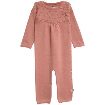 Wheat Jumpsuit Rosalil <br> Soft Rouge
