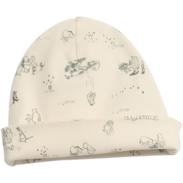 5992-05 Wheat Baby Beanie Pooh <br> Ivory