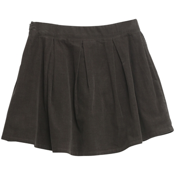 F164-1113-20 Wheat Skirt Adelena Blackink