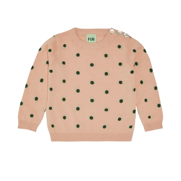 FUB Baby Dot Blouse <br> Rose Forest