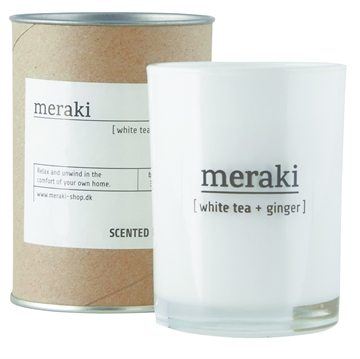 Mkap012vs2 Meraki Duftlys <br>White Tea &amp; Ginger